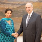 Indian Minister of State for External Affairs Mrs. Preneet Kaur on Official Visit to Greece
